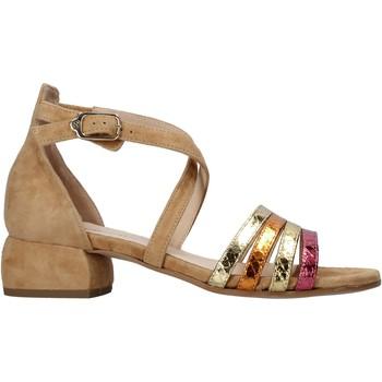 Schuhe Damen Sandalen / Sandaletten Carmens Padova 45060 Braun