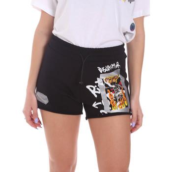 Kleidung Damen Shorts / Bermudas Disclaimer 21EDS50650 Schwarz