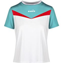 Kleidung Damen T-Shirts Diadora 102175659 Weiß