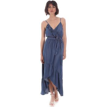 Kleidung Damen Maxikleider Gaudi 111BD16003 Blau