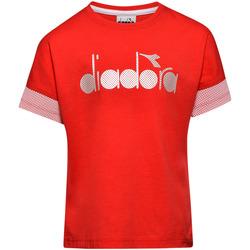 Kleidung Kinder T-Shirts Diadora 102175914 Rot