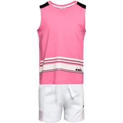 Kleidung Kinder Kleider & Outfits Diadora 102175915 Rosa