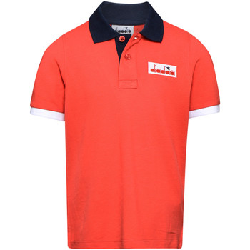 Kleidung Kinder Polohemden Diadora 102175907 Rot