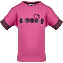 Kleidung Kinder T-Shirts Diadora 102175914 Rosa