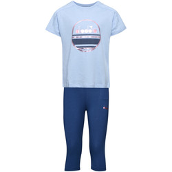 Kleidung Kinder Kleider & Outfits Diadora 102175918 Blau