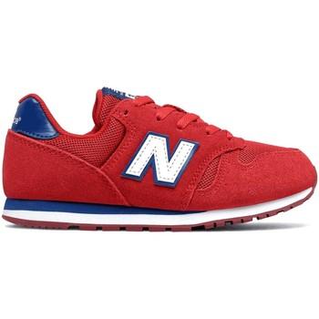 Schuhe Kinder Sneaker Low New Balance NBYC373SRW Rot