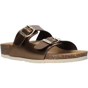 Schuhe Damen Pantoffel Bionatura 94THESISD-LAMRAM Braun