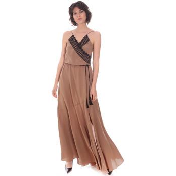 Kleidung Damen Maxikleider Cristinaeffe 0704 2498 Beige