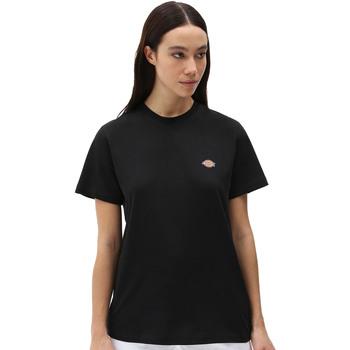 Kleidung Damen T-Shirts Dickies DK0A4XDABLK1 Schwarz