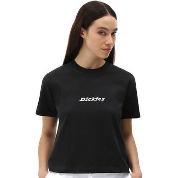Kleidung Damen T-Shirts Dickies DK0A4XBABLK1 Schwarz