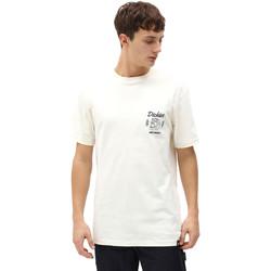 Kleidung Herren T-Shirts Dickies DK0A4X9NECR1 Weiß