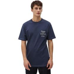 Kleidung Herren T-Shirts Dickies DK0A4X9NNV01 Blau