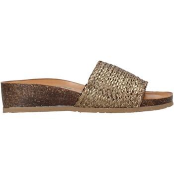 Schuhe Damen Pantoletten Bionatura 12A2128-I-TRCBRO Braun