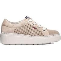 Schuhe Damen Sneaker Low CallagHan 14929 Beige
