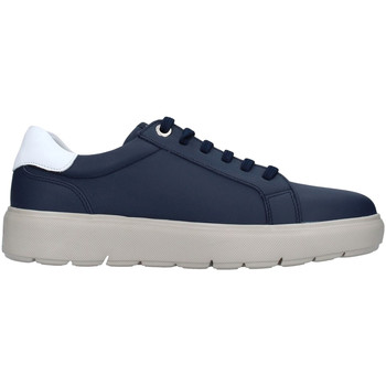 Schuhe Herren Sneaker Low CallagHan 45504 Blau