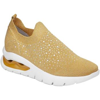 Schuhe Damen Slip on CallagHan 45806 Gelb