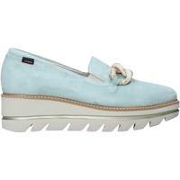 Schuhe Damen Slip on CallagHan 14844 Grün