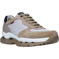 Schuhe Herren Sneaker Low CallagHan 17813 Beige