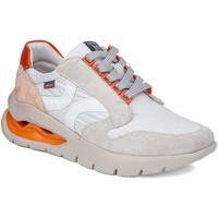 Schuhe Damen Sneaker Low CallagHan 45807 Beige
