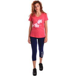 Kleidung Damen Jogginganzüge Key Up 5K79A 0001 Rosa