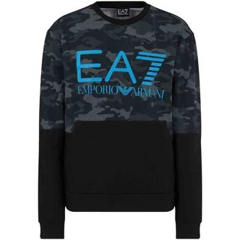 Kleidung Herren Sweatshirts Ea7 Emporio Armani 3KPM43 PJ5BZ Schwarz