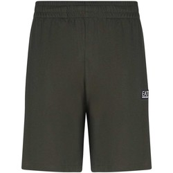 Kleidung Herren Shorts / Bermudas Ea7 Emporio Armani 3KPS53 PJ7BZ Grün
