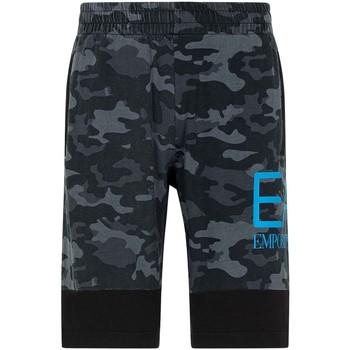 Kleidung Herren Shorts / Bermudas Ea7 Emporio Armani 3KPS60 PJ5BZ Schwarz