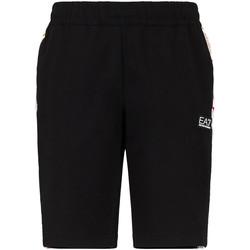 Kleidung Herren Shorts / Bermudas Ea7 Emporio Armani 3KPS81 PJ05Z Schwarz