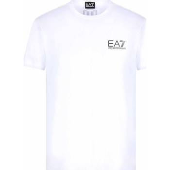 Kleidung Herren T-Shirts Ea7 Emporio Armani 3KPT06 PJ03Z Weiß