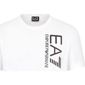 Kleidung Herren T-Shirts Ea7 Emporio Armani 3KPT10 PJ7RZ Weiß