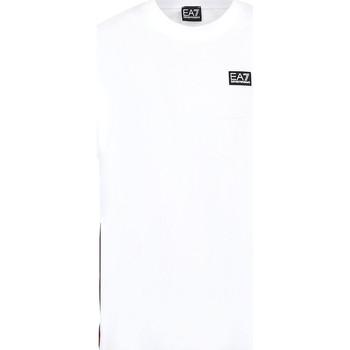 Kleidung Herren T-Shirts Ea7 Emporio Armani 3KPT13 PJ02Z Weiß
