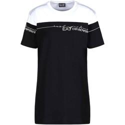 Kleidung Damen T-Shirts Ea7 Emporio Armani 3KTT59 TJBEZ Schwarz