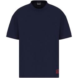 Kleidung Herren T-Shirts Ea7 Emporio Armani 3KPT58 PJ02Z Blau
