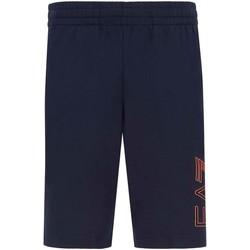 Kleidung Herren Shorts / Bermudas Ea7 Emporio Armani 3KPS57 PJ05Z Blau
