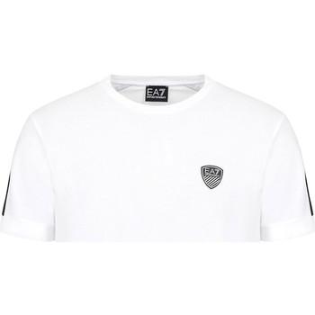 Kleidung Herren T-Shirts Ea7 Emporio Armani 3KPT56 PJ4MZ Weiß