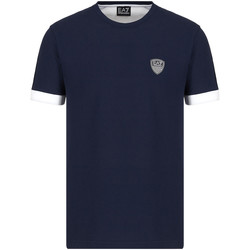 Kleidung Herren T-Shirts Ea7 Emporio Armani 3KPT56 PJ4MZ Blau