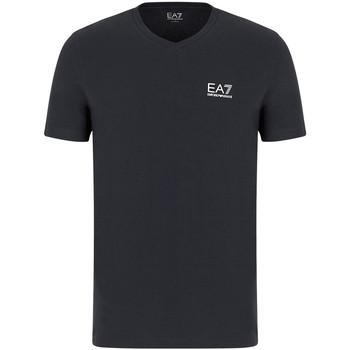 Kleidung Herren T-Shirts Ea7 Emporio Armani 8NPT53 PJM5Z Grau