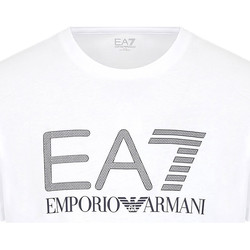 Kleidung Herren T-Shirts Ea7 Emporio Armani 3KPT81 PJM9Z Weiß