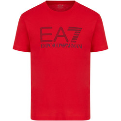 Kleidung Herren T-Shirts Ea7 Emporio Armani 3KPT81 PJM9Z Rot