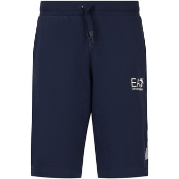 Kleidung Herren Shorts / Bermudas Ea7 Emporio Armani 3KPS67 PJ05Z Blau
