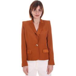 Kleidung Damen Jacken / Blazers Cristinaeffe 0306 2545 Braun