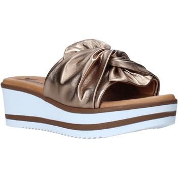 Schuhe Damen Pantoffel Susimoda 1909 Braun