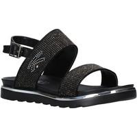 Schuhe Damen Sandalen / Sandaletten Keys K-4971 Schwarz