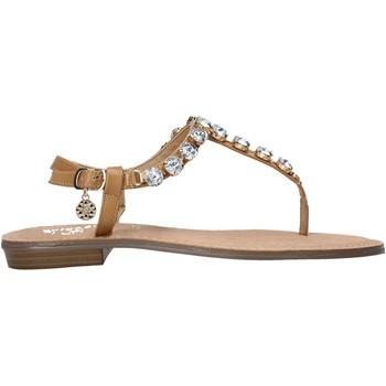 Schuhe Damen Zehensandalen Gold&gold A21 GL618 Braun