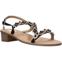 Schuhe Damen Sandalen / Sandaletten Gold&gold A21 GL607 Schwarz