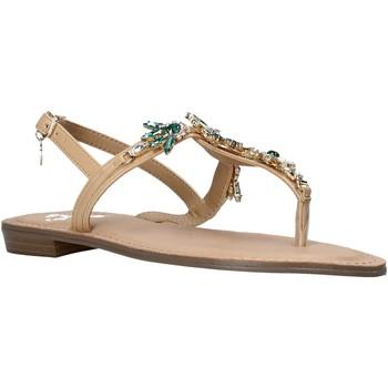 Schuhe Damen Sandalen / Sandaletten Gold&gold A21 GL628 Beige