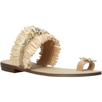 Schuhe Damen Sandalen / Sandaletten Gold&gold A21 GL613 Beige