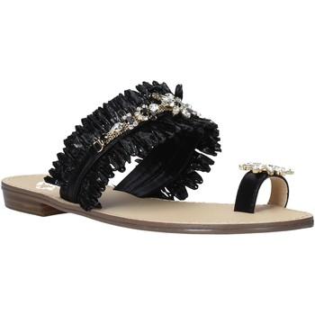 Schuhe Damen Sandalen / Sandaletten Gold&gold A21 GL613 Schwarz