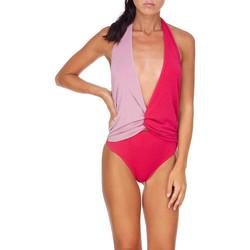Kleidung Damen Badeanzug Me Fui M20-0008FX Rosa