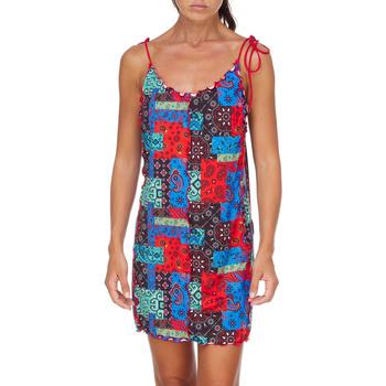 Kleidung Damen Kurze Kleider Me Fui M20-0361X1 Rot